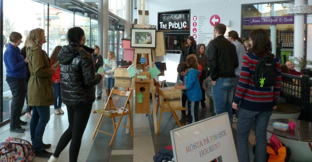 Många intresserade besökare